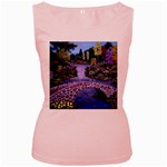 My Garden By Ave Hurley Ah 001 163 Original 1 45mg Women s Pink Tank Top