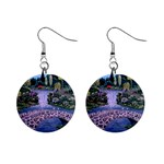 My Garden By Ave Hurley Ah 001 163 Original 1 45mg 1  Button Earrings