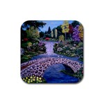 My Garden By Ave Hurley Ah 001 163 Original 1 45mg Rubber Coaster (Square)