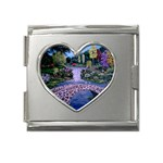 My Garden By Ave Hurley Ah 001 163 Original 1 45mg Mega Link Heart Italian Charm (18mm)