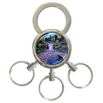 My Garden By Ave Hurley Ah 001 163 Original 1 45mg 3-Ring Key Chain
