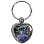 My Garden By Ave Hurley Ah 001 163 Original 1 45mg Key Chain (Heart)