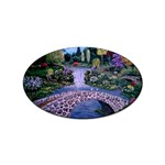 My Garden By Ave Hurley Ah 001 163 Original 1 45mg Sticker (Oval)