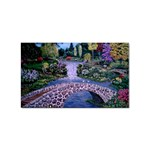 My Garden By Ave Hurley Ah 001 163 Original 1 45mg Sticker (Rectangular)
