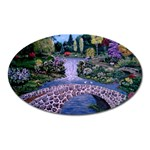 My Garden By Ave Hurley Ah 001 163 Original 1 45mg Magnet (Oval)