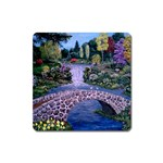 My Garden By Ave Hurley Ah 001 163 Original 1 45mg Magnet (Square)