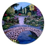 My Garden By Ave Hurley Ah 001 163 Original 1 45mg Magnet 5  (Round)
