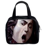 The Head Of The Medusa By Michelangelo Caravaggio 1590 Classic Handbag (Two Sides)