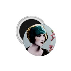 Art Deco Woman in Green Hat 1.75  Magnet from Aussie Custom Gifts Front