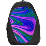 Psychedelic Pink Swirl Backpack Bag
