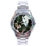 Girl & Her Unicorn Stainless Steel Analogue Men's Watch
