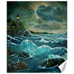 Hobson s Lighthouse by Ave Hurley - Canvas 8  x 10