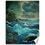 Hobson s Lighthouse by Ave Hurley - Canvas 12  x 16