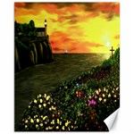 Eddies Sunset by Ave Cosgriff Hurley Canvas 11  x 14