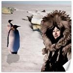 Eskimo Scene Canvas 12  x 12