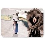 Eskimo Scene Large Doormat