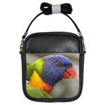 Lorikeet, Rainbow Girls Sling Bag