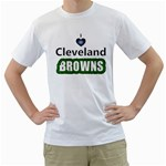 I love I heart Cleveland Browns White T-Shirt