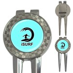 Isurf Surf In Sea Surf network 3-in-1 Golf Divot