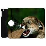 Laught Out Loud  Snarl Cougar Apple iPad Mini Flip 360 Case