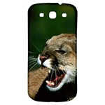 Laught Out Loud  Snarl Cougar Samsung Galaxy S3 S III Classic Hardshell Back Case