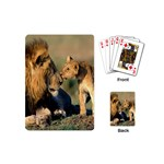 Kissing Mom  Lions Playing Cards (Mini)