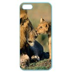 Kissing Mom  Lions Apple Seamless iPhone 5 Case (Color)