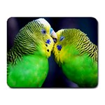 Kiss And Love Lovebird Small Mousepad