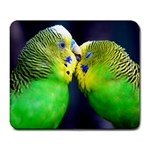 Kiss And Love Lovebird Large Mousepad