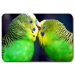 Kiss And Love Lovebird Large Doormat