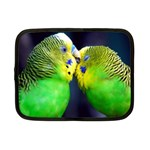 Kiss And Love Lovebird Netbook Case (Small)