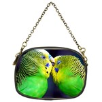 Kiss And Love Lovebird Chain Purse (One Side)