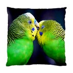 Kiss And Love Lovebird Cushion Case (One Side)
