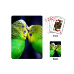 Kiss And Love Lovebird Playing Cards (Mini)