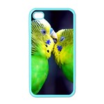 Kiss And Love Lovebird Apple iPhone 4 Case (Color)