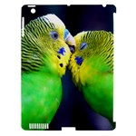Kiss And Love Lovebird Apple iPad 3/4 Hardshell Case (Compatible with Smart Cover)