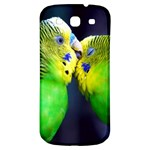 Kiss And Love Lovebird Samsung Galaxy S3 S III Classic Hardshell Back Case