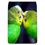 Kiss And Love Lovebird Removable Flap Cover (Large)