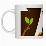 Keep Calm And Love On White Mug