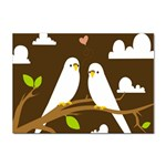 Keep Calm And Love On Sticker A4 (100 pack)