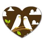 Keep Calm And Love On Mousepad (Heart)