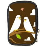Keep Calm And Love On Compact Camera Leather Case