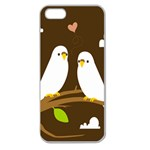 Keep Calm And Love On Apple Seamless iPhone 5 Case (Clear)