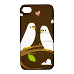 Keep Calm And Love On Apple iPhone 4/4S Hardshell Case with Stand