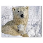 In Moms Arm Mothers Love Jigsaw Puzzle (Rectangular)