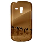 Marching To Success Camel In Desert Samsung Galaxy S3 MINI I8190 Hardshell Case