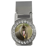 Mandrill Monkey Money Clip (CZ)