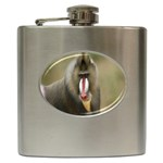 Mandrill Monkey Hip Flask (6 oz)