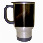 Mandrill Monkey Travel Mug (Silver Gray)
