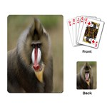 Mandrill Monkey Playing Cards Single Design